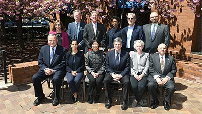 ACLS Board of Directors in attendance