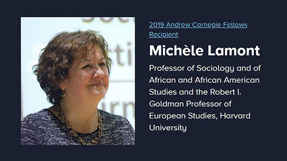 Congratulations to ACLS Board Member Michele Lamont
