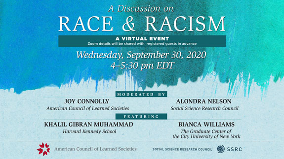 Race and Racism Discussion Event