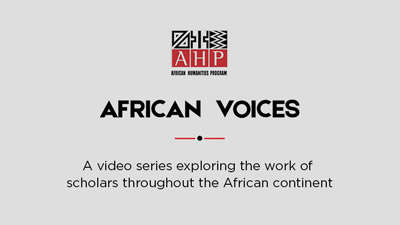 African Humanities Voices