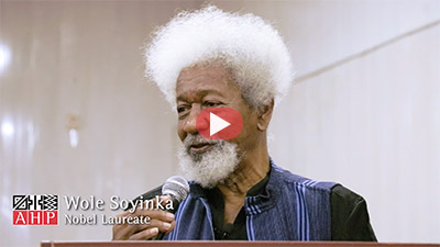 Nobel Prize Laureate Wole Soyinka Keynote Address At AHP Assembly