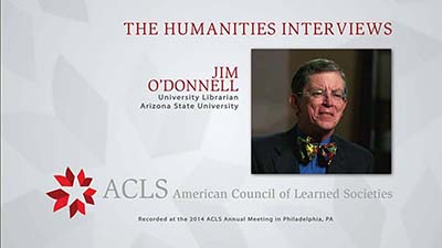 The Humanities Interviews: James J. O'Donnell