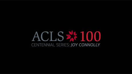 ACLS President Joy Connolly
